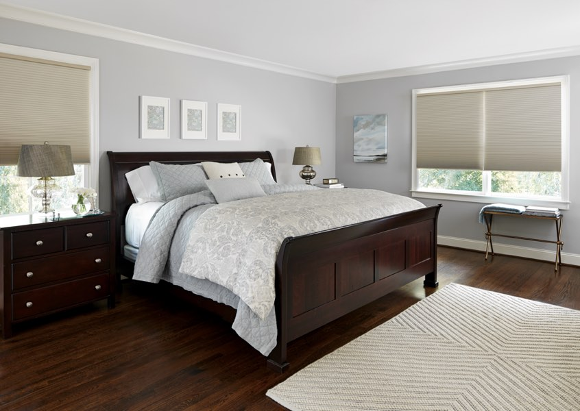 Raleigh blackout shades bedroom